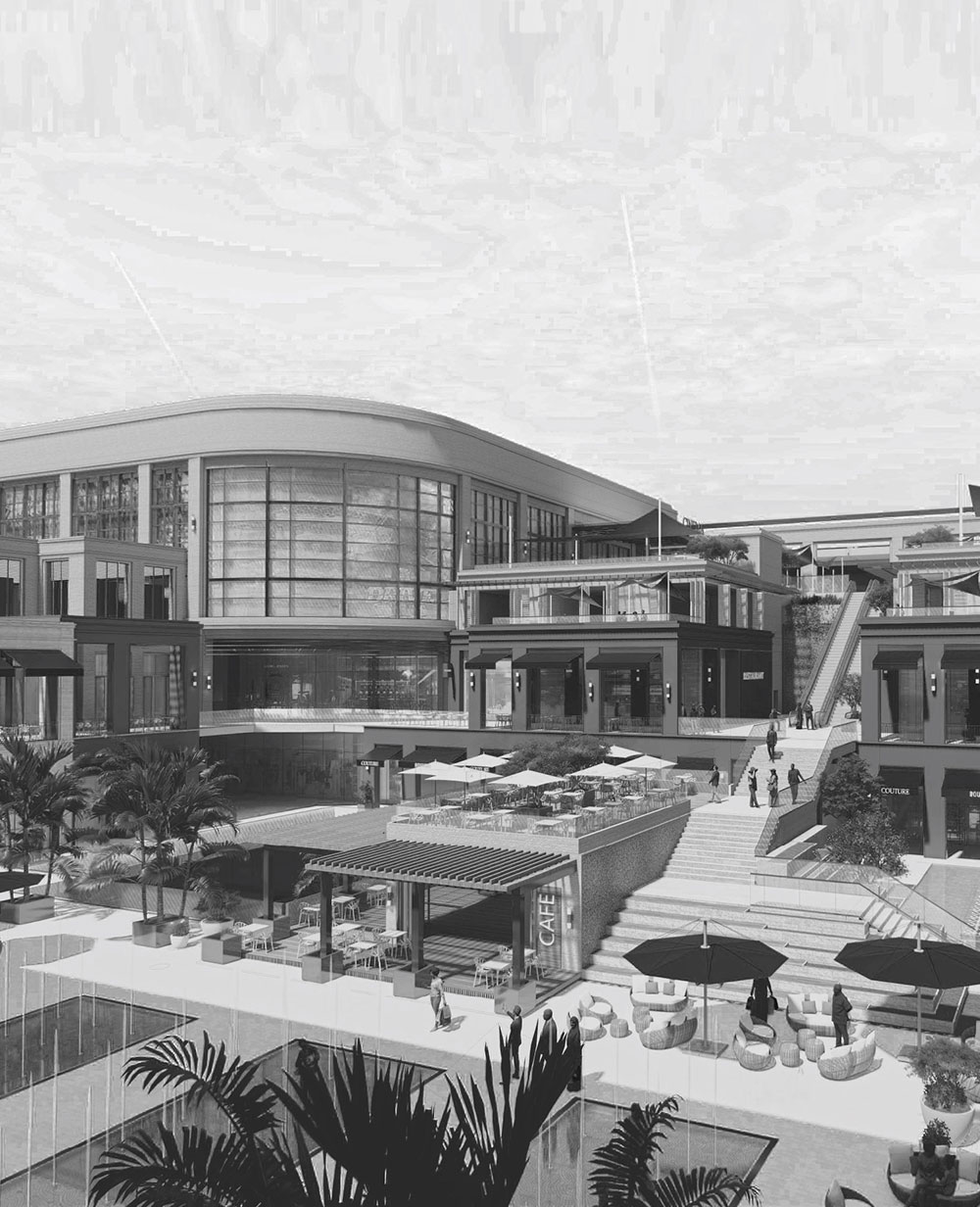 The first open space village ambiance lifestyle and entertainment destination in Alexandria